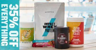 خصم 35% + 10% باستخدام الكود على كل منتجات ماي بروتين