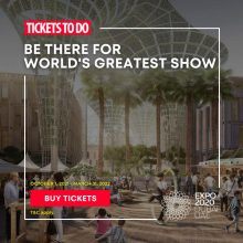 Global Village free ticket with each EXPO 2020 ticket using the code